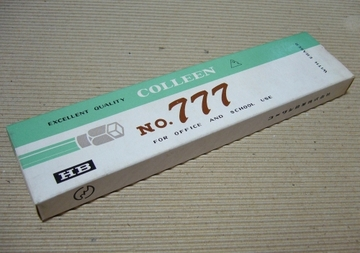 消しゴム付きコーリン鉛筆No.777