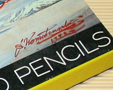 小松崎茂さんパッケージのコーリン色鉛筆