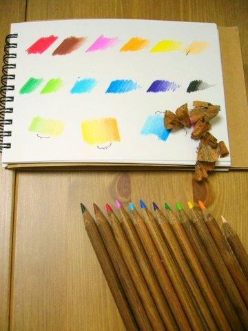 コーリン色鉛筆 チーク