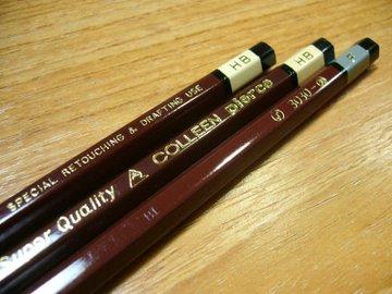 コーリン鉛筆 ピアス