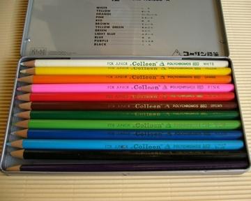 コーリン鉛筆 宇宙家族ロビンソン 色鉛筆
