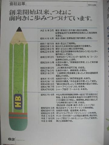 コーリン鉛筆 カタログ