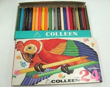 コーリン鉛筆 輸出用色鉛筆(ハーフサイズ)