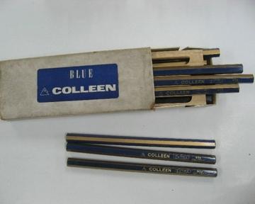 コーリン鉛筆 太軸・青鉛筆 No.9731