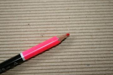 コーリン鉛筆 黒&蛍光鉛筆No.2850(別名2way鉛筆)